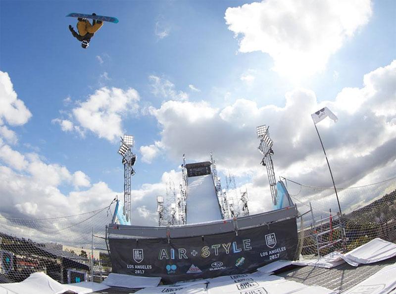 Snowboarding Festival Boosts LA 2024 Olympic Bid