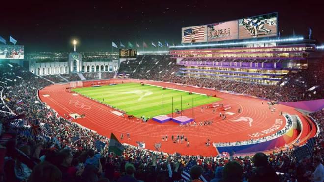 LA 2024 - LA Memorial Coliseum - Olympic and Paralympic Athletics