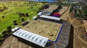 LA 2024 Releases Valley Sports Park Renderings Including Canoe Slalom, Equestrian