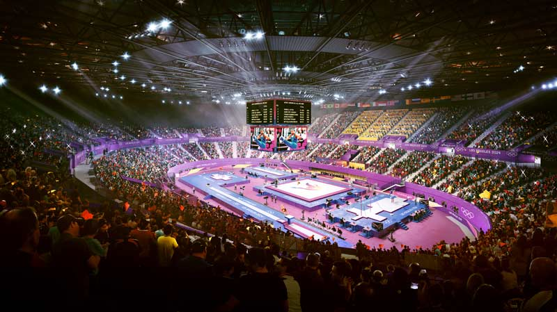 LA 2024 Readies To Light Up For IOC Evaluation Commission Visit