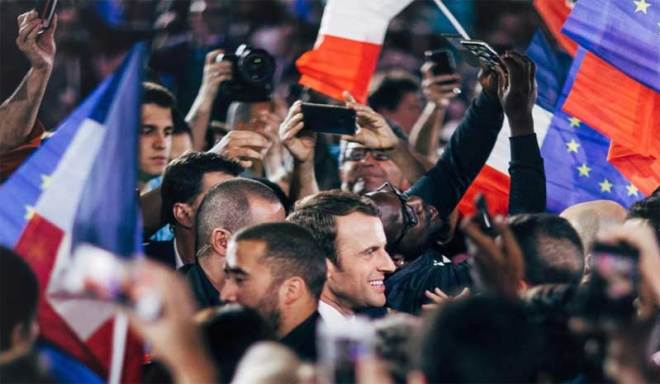 Emmanuel Macron elected President of France on May 7, 2017