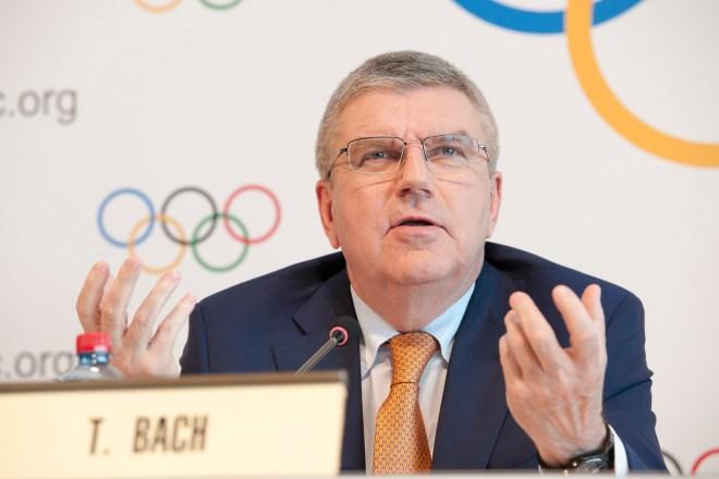IOC President Thomas Bach in Lausanne June 9, 2017 (IOC Photo)