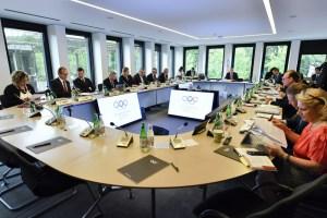 IOC Executive Board Meeting June 9, 2017 (IOC Photo)