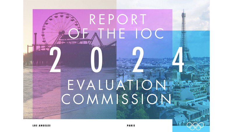 IOC Evaluation Report Finds 78% in Los Angeles Support 2024 Olympic Bid; 63% Across Paris