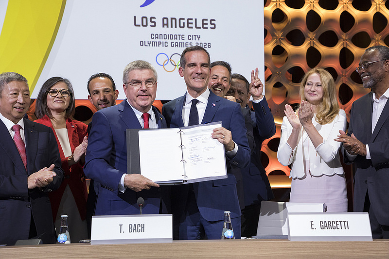Paris, LA will host Olympics