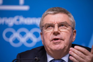 IOC President Shrugs Off Possibility of 3 Straight Asian Winter Olympics