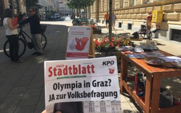 Opponents Of Graz 2026 Olympic Bid Laud Sion Defeat As They Get Close To Forcing Referendum Of Their Own