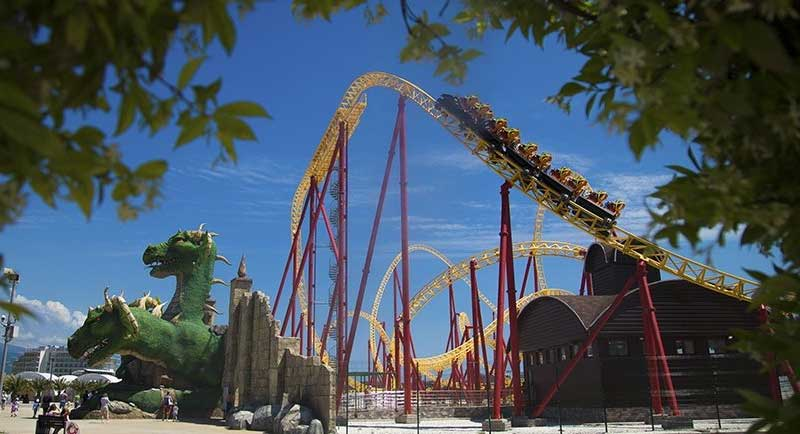 Sochi Park includes the highest roller coaster in Russia (Photo: Sochi Park)