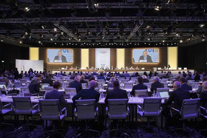 133rd IOC Session in Buenos Aires October 9, 2018 (IOC Photo)