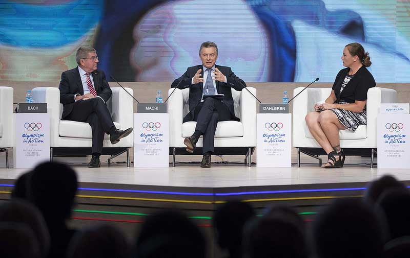 IOC President Touts Bids From Argentina and Indonesia To Host Summer Olympics In 2032