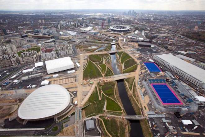 London 2012 Olympic Park (IOC Photo)