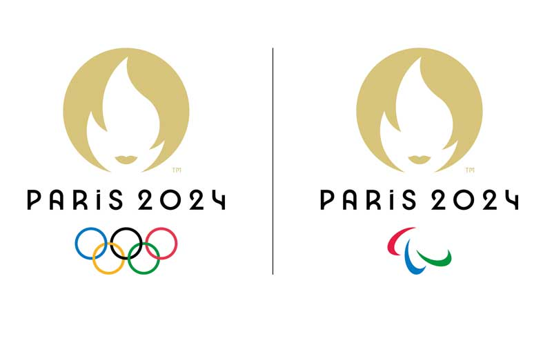 Golden Marianne logo for 2024 Games unveiled