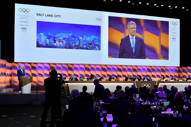 USOPC In Conversation With LA 2028 Over Timing Of Potential Salt Lake City Winter Olympics Bid