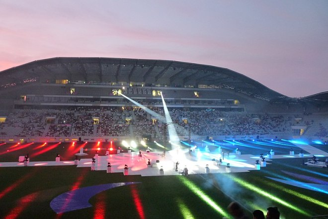 Paris 2018 Gay Games Opening Ceremony (Wikipedia)