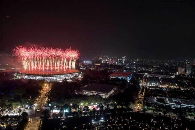 Opening Ceremony at Jakarta-Palembang 2018 Asian Games (OCA Photo)