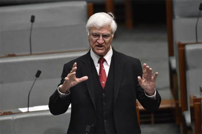 Australia Federal MP for Kennedy in Queensland Bob Katter (Facebook Photo)