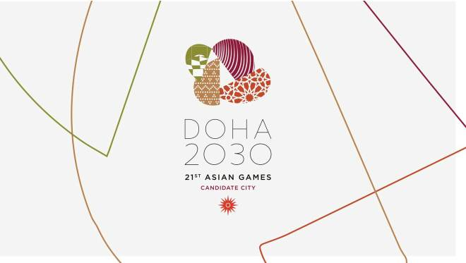 Doha 2030 Asian Games Bid Logo