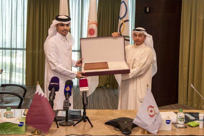 Qatar Olympic Committee Presents Doha 2030 Asian Games Bid Book