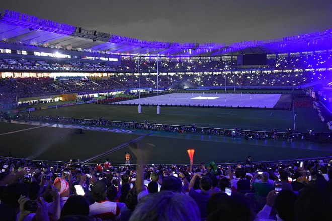 Rugby World Cup 2019 Opening Ceremony (Photo: Wikipedia)
