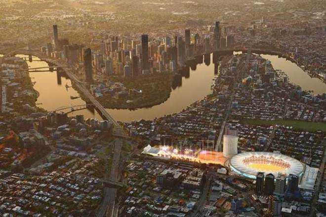 Redeveloped century old cricket ground Gabba set to be centerpiece for proposed Brisbane 2032 Olympic and Paralympic Games