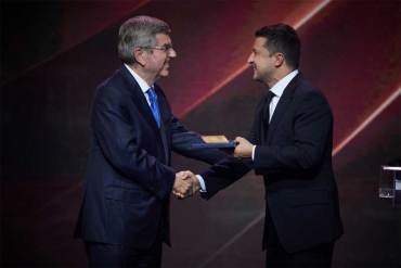 Ukraine President tells IOC that his nation will launch bid to host the Olympic Winter Games