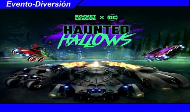 Rocket League DC Haunted Hallows