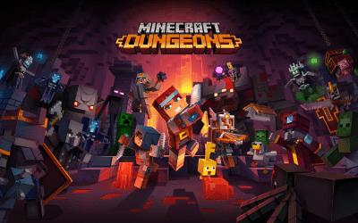 Minecraft Dungeons Cross-platform Date Announced