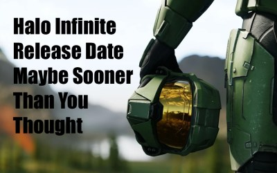 Halo Infinite Release Date May Be Sooner Than You Thought (Spring 2021 Hopefully)