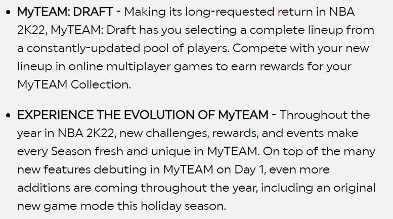 nba 2k22 new features