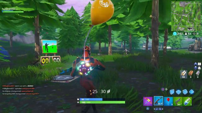 fortnite shooting galleries locations season 7