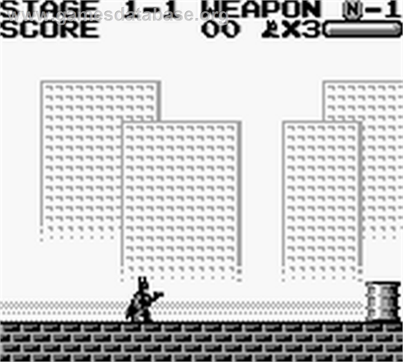 Blade Game Boy Color Manuals