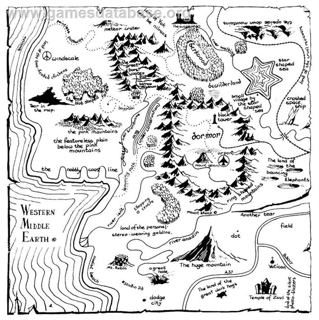 Brilliant Spoofs Of The Classic Fantasy Novel Map Flavorwire
