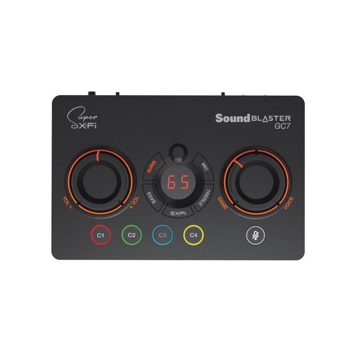 Sound Blaster GC7: Ο Έλεγχος στο χέρι σας