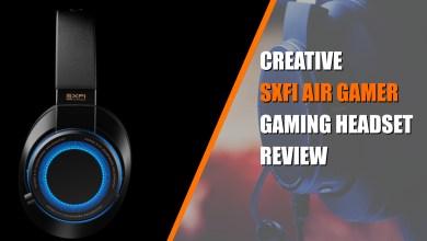 Creative SXFI Air Gamer – Headset Review