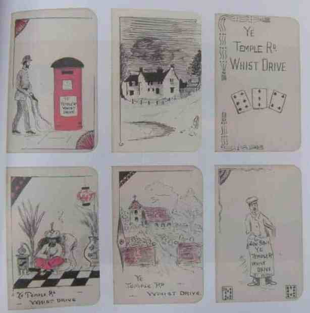 Whist Tally Cards