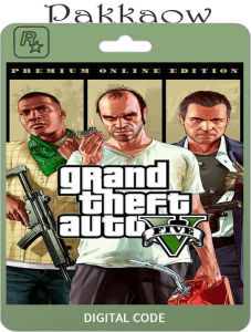Grand Theft Auto Online (GTA V 5):  Repack Highly Compressed + Crack PC Game Free