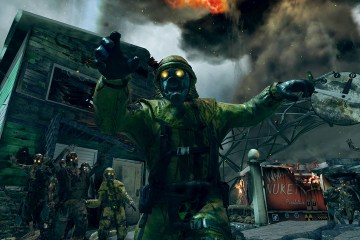 Call of Duty Black Ops II mapa Nuketown Zombies