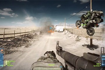 Battlefield 3: End Game Captura la bandera en moto