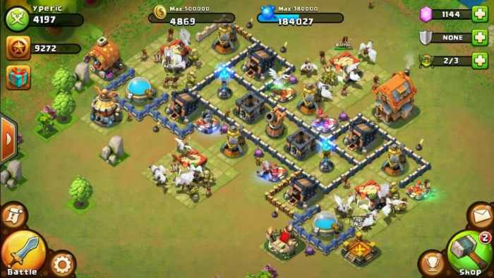 Castle Clash ingame download