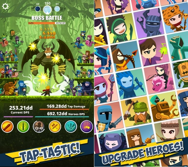 download Tap Titans free
