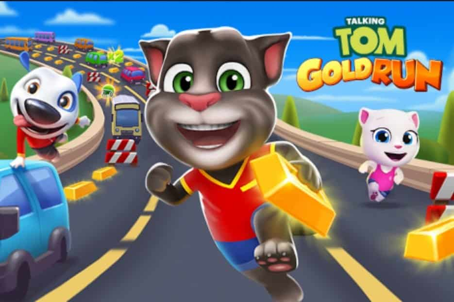 Talking Tom: Gold Run android game free download