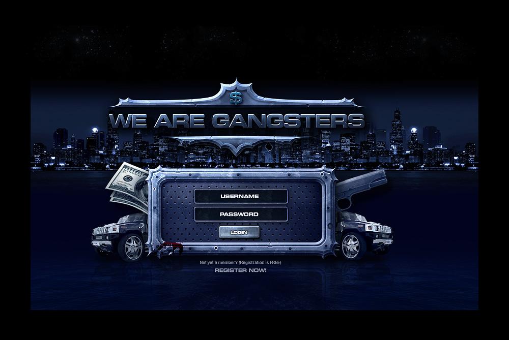 Modern Gangsters Template