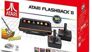 Atari Flashback 8 Gold Deluxe Game Console Hdmi 120