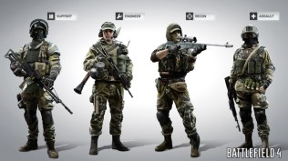Battlefield 4 Classes Screen 1