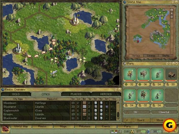 Age of Wonders pc game screen shot 1