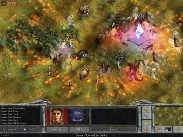 Age of Wonders pc game screen shot 2