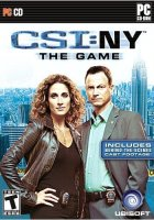 CSI New York pc game cover.
