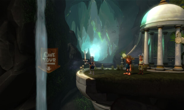 Cave Days Video Game screen shot 3