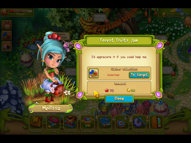 Clover Tale The Magic Valley screen shot 1