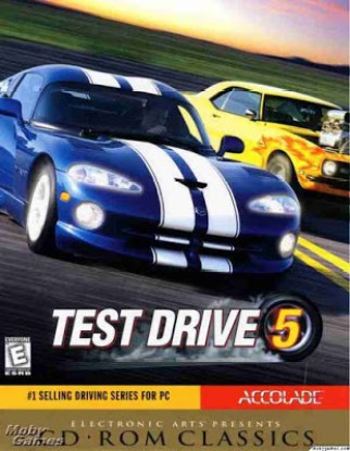Test-drive-5 PC Game cover